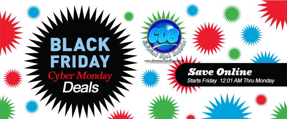 Black Friday Cyber Monday CDB