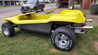 Yellow Genesis 4-Seater Dune Buggy