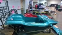 Aqua Metal Flake Nostalgia 2-Seater Dune Buggy