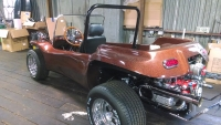 Bronze Metal Flake Genesis 4-Seater Dune Buggy
