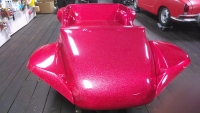 Red Metal Flake Nostalgia 2-Seater Dune Buggy