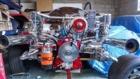 2180cc 160HP VW Engine Dual 44mm 2-Barrels