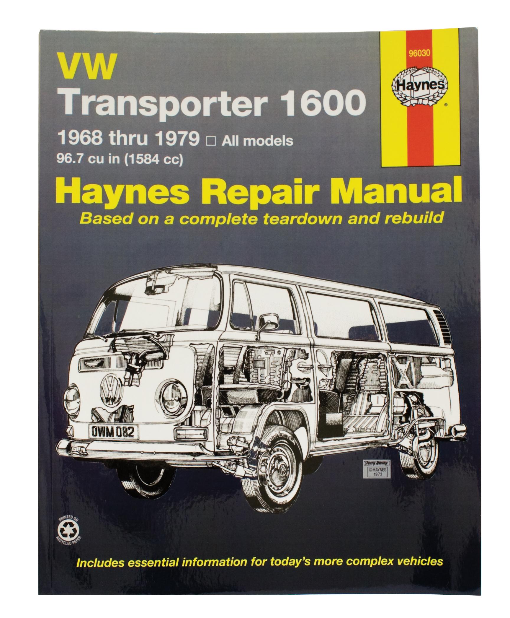 Repair Manual Bus 68