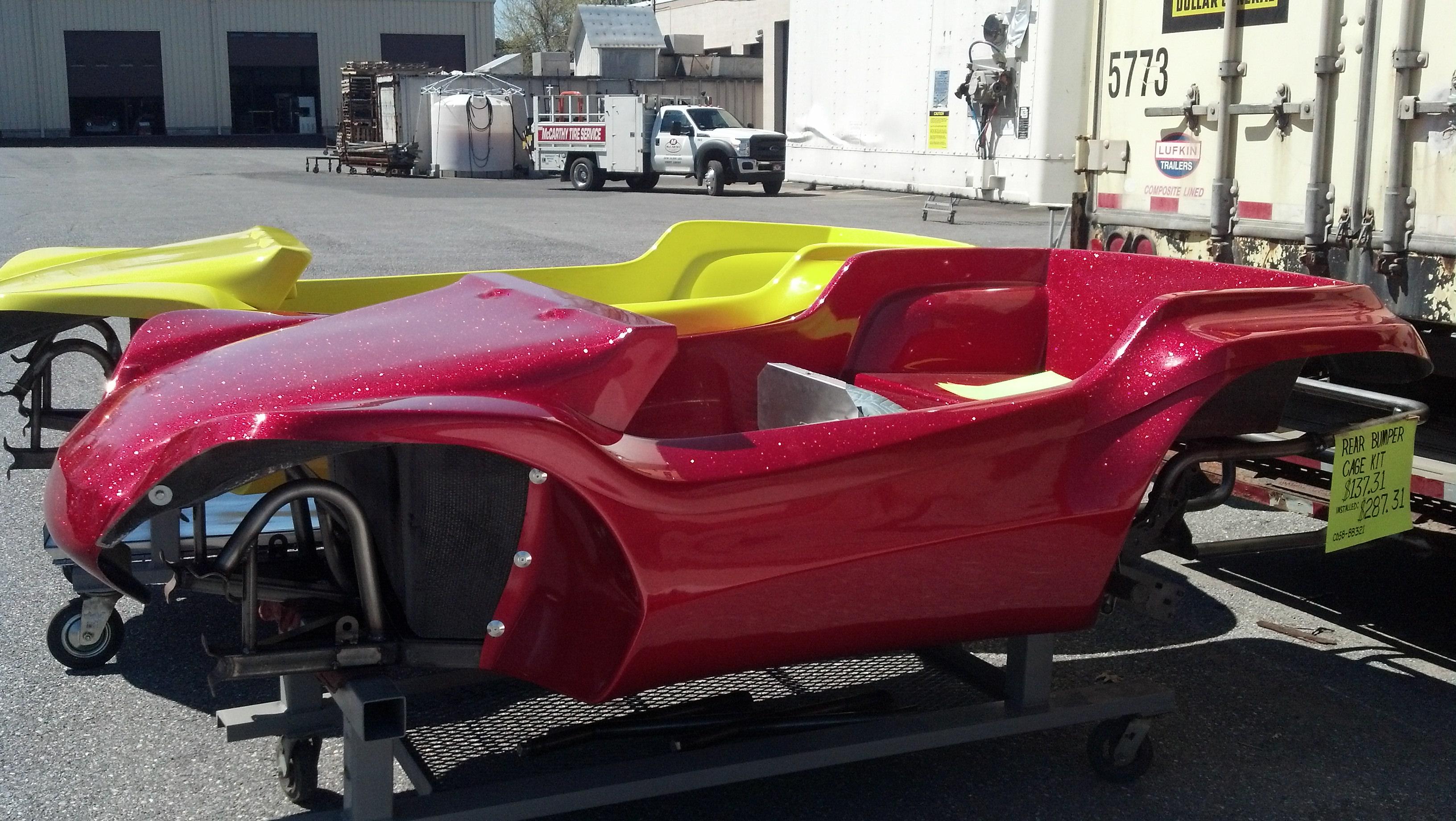 Genesis 4-Seater Dune Buggy Body - Metal Flake