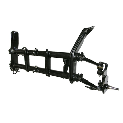 Front Axle Beam 67-69 w/Spindles BJ, Drum, Adjustable