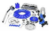 SUPER DLX ENGINE KIT, BLUE