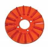 Generator Pulley Cover Red