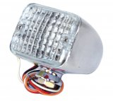 MINI LED TURN/TAIL/STOP LIGHT, RED/RED/AMBER