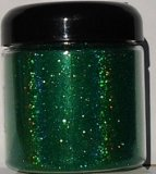 "Green Holographic .004"" Metal Flake"