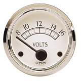Voltage Gauge 8-16 VDC Royale Series