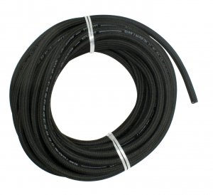 FABRIC BRAIDED FUEL HOSE, 5 X 2.5MM, per ft